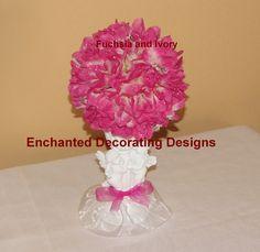 Pomander Ball Cherub Candle holder Wedding Flower Cute centerpiece idea!