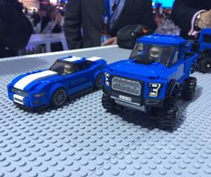 #LEGO just revealed #Ford Raptor and Mustang GT Speed Champions... - Geek gifts