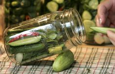 Blue Ribbon Pickles by Jenny Weiss: as made by cheffjeff: A winner at the Minnesota State Fair Here is the link