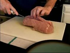 Stuffed Pork Loin Recipe : How to Prep Meat for Stuffed Pork Loin