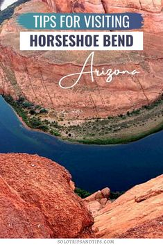 Tips for visiting Horseshoe Bend Arizona for epic views of the Colorado River. This must-do hike in Page Arizona is easy for all ages, great family hike or solo hike. Visit Horseshoe Bend at sunset! Click to read the article and get all the details (like fees, parking, and when to visit) Horseshoe Bend Page AZ Page Arizona, Horseshoe Bend Photography, Arizona Photography, Arizona Bucket List, )Arizona Road Trip, Page Arizona bucket List, Page Arzona Things to Do, Southwest USA Bucket List,
