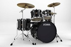 """Tama Imperialstar 5-Piece Drum Kit with 22"""" Bass Drum and Cymbals - Black *** You can get additional details at the image link."""