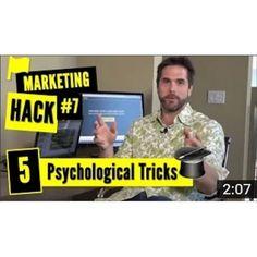 Marketing Hack #1 from Fanatics Media via @markfidelman 5 Psychological… #digitalmarketing #networking #instagram #emailmarketing #youtube