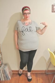 "(via The Nearsighted Owl: Reclaiming the Word Fat)  ""F-A-T. I am fat. My body is fat. I use the word fat. I own the word fat. I have reclaimed fat. It's a word of empowerment and signifies the acceptance of my body and the right for it to exist. It's the jiggle when I walk and the radical statement that I refuse to minimize myself."""