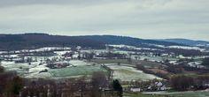 Sneeuw landschap Eperheide