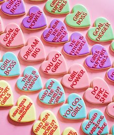 Sweet Strength: Courage Cookies to Empower the Women in Your Life + 21 Girl Power Quotes to Inspire You - Carrie Colbert Valentine Cookies, Easter Cookies, Birthday Cookies, 30th Birthday, Christmas Cookies, Flower Cookies, Heart Cookies, Cookie Bouquet, Baby Cookies