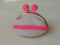 Monedero de Crochet con forro de TheBohemianNature en Etsy