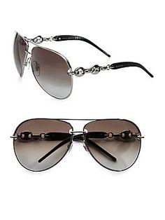 aa72635e8b9 Gucci GG4225 S Sunglasses – 0BGY Ruthenium (IF Brown Gradient Azure Lens) –