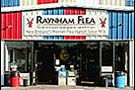 Raynham Flea front entrance