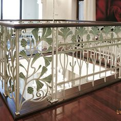 The internet gallery of blacksmith's art Luxury Interior, Interior And Exterior, Interior Railings, Cribs, Gallery, Bed, Furniture, Home Decor, Cots