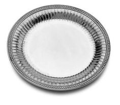 Wilton Armetale Flutes and Pearls Platter