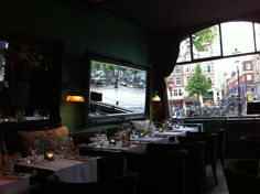 Restaurant Red - a beautiful little spot in Amsterdam, The Netherlands