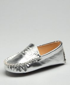 Silver Metallic Moccasin by lolibears.com for $17.48