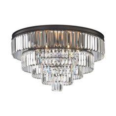 "Elk Lighting 152-6/6 Palacial - 31"" Six Light Chandelier"