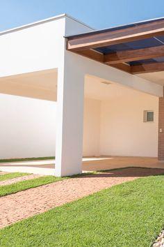 Outdoor Box, Outdoor Pergola, Outdoor Patio Designs, Pergola Designs, Home Garden Design, House Design, Backyard Gates, Modern Villa Design, Minimal Architecture