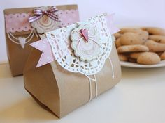 cute idea with brown bag
