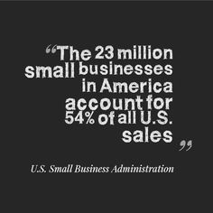 Wouldn't it be great if we could increase this number!! Think about how much a small business like Holy Lamb Organics gives back to its community by hiring local people and being a zero waste work environment. Small business ROCKS!!