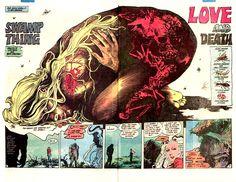 Swamp Thing by Stephen Bissette & John Totleben