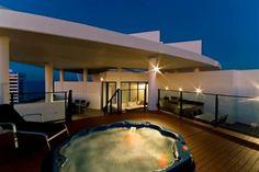 Entire home/apt in Broadbeach, AU. 3 Bedroom + Media Penthouse with roof top spa & BBQ at the Sierra Grand Resort Broadbeach! $560 night
