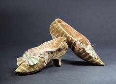 Marie Antoinette, Reine de France - paire de souliers
