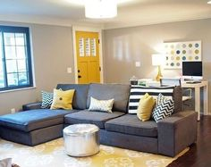 10 Incredible Diy Ideas: Living Room Remodel Before And After Butcher Blocks livingroom remodel rustic.Small Living Room Remodel Thoughts living room remodel with fireplace ship lap.Living Room Remodel With Fireplace Ceilings. New Living Room, Small Living Rooms, Living Room Kitchen, Home And Living, Living Room Designs, Living Room Decor, Computer Desk Living Room, Small Living Dining, Small Living Room Layout