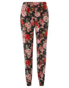Floral Print Trouser | Women | George at ASDA
