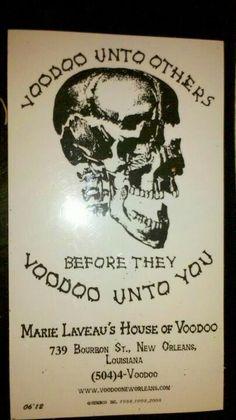 Magnet from Marie Laveau's Voodoo shop Voodoo Halloween, Vintage Halloween, Halloween Party, New Orleans Voodoo, New Orleans Louisiana, Voodoo Shop, Papa Legba, Marie Laveau, Voodoo Hoodoo