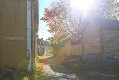 The old town of Loviisa, Finland
