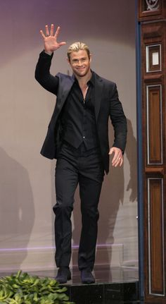Chris Hemsworth cant say how much I love this guy