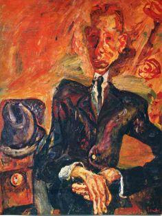 Chaïm Soutine (Jan 13, 1893 – Aug 9, 1943) was a French painter of Belarusian Jewish origin.  ~Repinned Via Phil Saxon