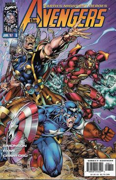 "Loki, Lethal Legion Pt.2""Shadowplay"" __Written by Walt Simonson Art by Michael Ryan . Cover by Jim Lee The Story __ It's all out war, as the Avengers face off with Loki's Lethal Legion in a no holds b"