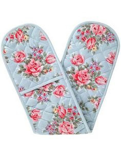 Cath Kidston - Trailing Floral Oven Mitt. Double-ended mitts are just more flexible.