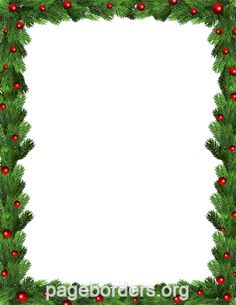 Printable green Christmas border. Use the border in Microsoft Word or other programs for creating flyers, invitations, and other printables. Free GIF, JPG, PDF, and PNG downloads at http://pageborders.org/download/Green-christmas-border/