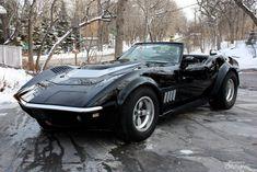 Black C3 Corvette Convertible