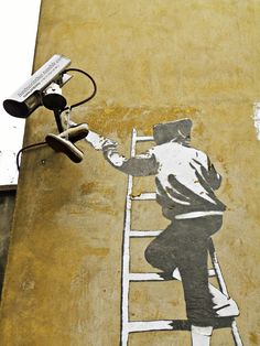 Banksy #street art #graffiti