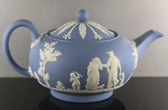"""Vintage Wedgwood teapot. Similar to the one I love in the movie """"All That Heaven Allows"""""""