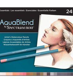 Spectrum Noir AquaBlend Pencils - Essentials