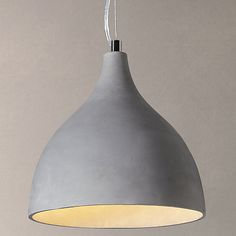 John Lewis Parry Concrete Pendant Light Need 2 Boho Lighting, Bedroom Lighting, Outdoor Lighting, Lighting Design, Pendant Lighting, Lighting Ideas, Light Fittings, Light Fixtures, Kitchen Pendants