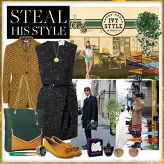 """""""Ivy League - Steal his Style"""" by ikaba ❤ liked on Polyvore"""