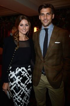 Newly Engaged Olivia Palermo and Johannes Huebl's Most Attractive Couple-y Moments: All smiles.