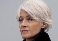 Shot cut Francoise Hardy, icon