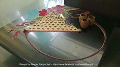 Indian Rangoli, Flower Rangoli, Creative Class, Beautiful Rangoli Designs, Simple Rangoli, Festival Decorations, Easy Paintings, Indian Art, Diwali