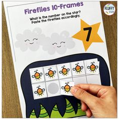 Have fun reviewing and teaching numbers 1 to 10 with this NO PREP Bugs Preschool Counting Activities! This resource is jam-packed with adorable bugs and cut & paste counting activities. There are 5-frames and 10-frames activities to help you differentiate your teaching easily. Learning Numbers Preschool, Preschool Centers, Teaching Numbers, Preschool Age, Subtraction Activities, Counting Activities, Math Games, Preschool Activities, Number Recognition Activities