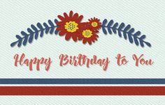 Express your lovely birthday greetings through this ecard ->