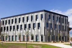 University of York by BDP architecs. EQUITONE facade materials. www.equitone.com