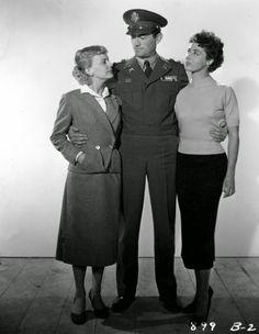 """Vintage Glamour Girls: Rita Gam, Anita Bjork & Gregory Peck in """" Night Pe..."""