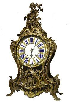Каминные  часы.  XIX век.
