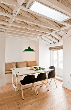 Tour the Space: Rustic-Modern Perfection at Lisbon's Baixa House