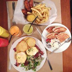Diner Bedford Marais 3 Rue du Bourg Tibourg 75004 Paris (U.S. Food)