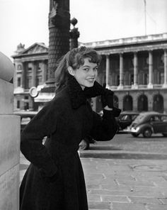 Brigitte Bardot by Georges Dambier, 1954